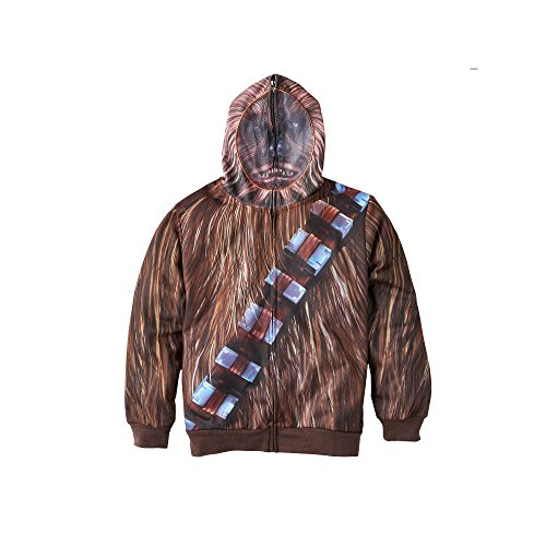 [Star Wars Chewbacca Sublimated Costume Hoodie (X-Large 18-20)] (Wookie Costumes)