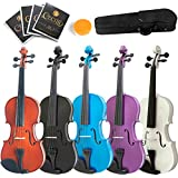 Mendini MA Solid Wood Viola with