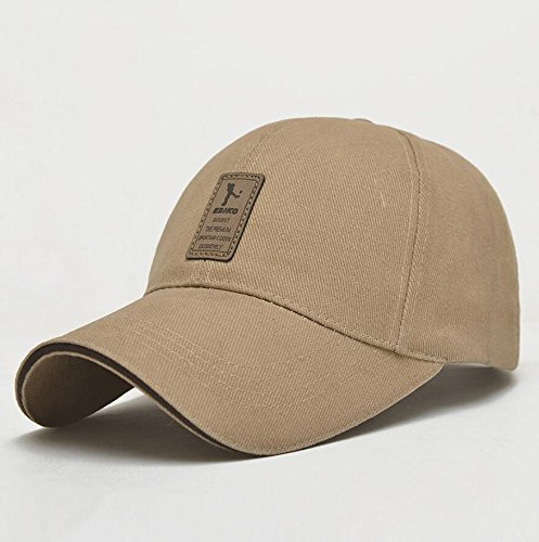 Xeno Unisex Men Women Sport Outdoor Baseball Cap Golf Snapback Hip Hop Hat Adjustable Khaki