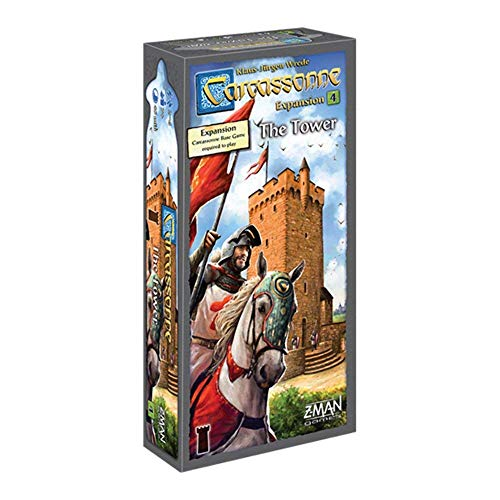 Carcassonne Expansion 4: The Tower Board Game ()