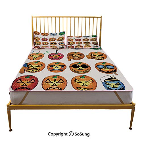 Halloween Decorations Creative King Size Summer Cool Mat,Carved