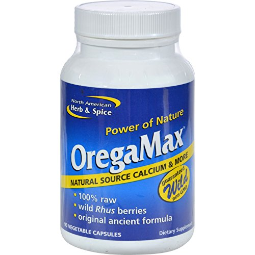 Oregamax 90 Capsules - 2Pack! North American Herb and Spice OregaMax - 90 Vegetable Capsules