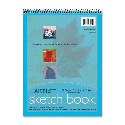 Wholesale CASE of 25 - Pacon General Purpose Sketch Pad-Sketch Book, 57lb., 9''x12'', 48/CT, White by PAC
