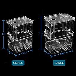 Petzilla PBI-1 Aquarium Fish Breeder Box for Hatchery (Large, 3.94\