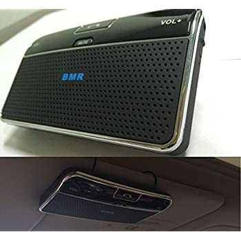 Amazon.com: BMR Bluetooth 4.0 Visor Handsfree Two-Speaker