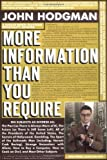 More Information Than You Require, John Hodgman, 0525950346