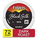 72-Count Folgers Black Silk Dark Roast Coffee for Keurig Makers
