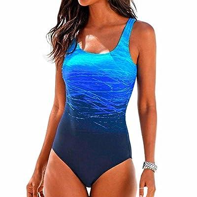 ASERTY Womens One-Piece Swimsuit Swimming Costume Padded Swimsuit Monokini Push Up Bikini Sets Swimwear from ASERTYL