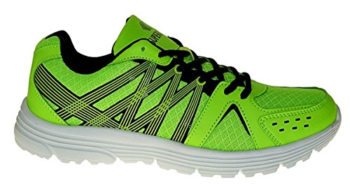 Bootsland Art 919 Neon Turnschuhe Schuhe Sneaker Sportschuhe Neu Herren