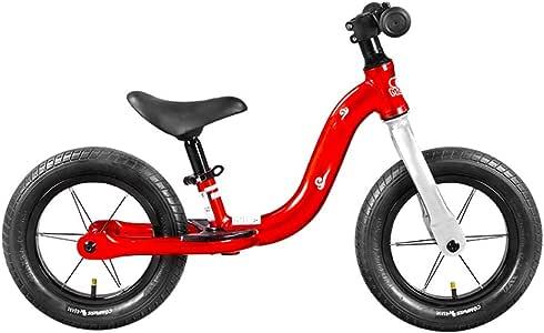 YUMEIGE Bicicletas sin Pedales Bicicleta de Equilibrio para niños Dirección 360 Grados,Bicicletas sin Pedales Asiento de Aluminio Ajustable, con reposapiés 2-5 años Competitivo (Color : Red): Amazon.es: Jardín