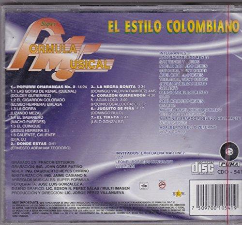 El Estilo Colombiano: Super Formula Musical