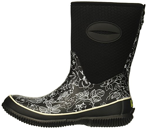 511U19-6QiL Western Chief Women's Cold Rated Neoprene Boot With Memory Foam, Sketch Flowers, 8 M US