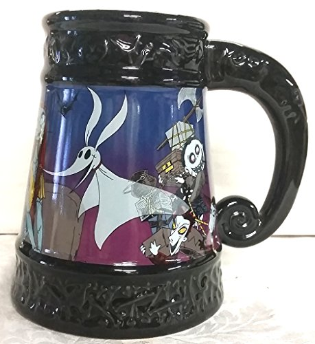 Nightmare Before Christmas Ceramic Stein Discontinued