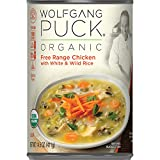 chicken and rice soup - Wolfgang Puck Organic Free Range Chicken with White & Wild Rice Soup, 14.5 oz (Pack of 12)