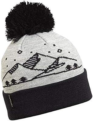 Turtle Fur Kids Boys Reflective Mountain Life Knit Pom Beanie