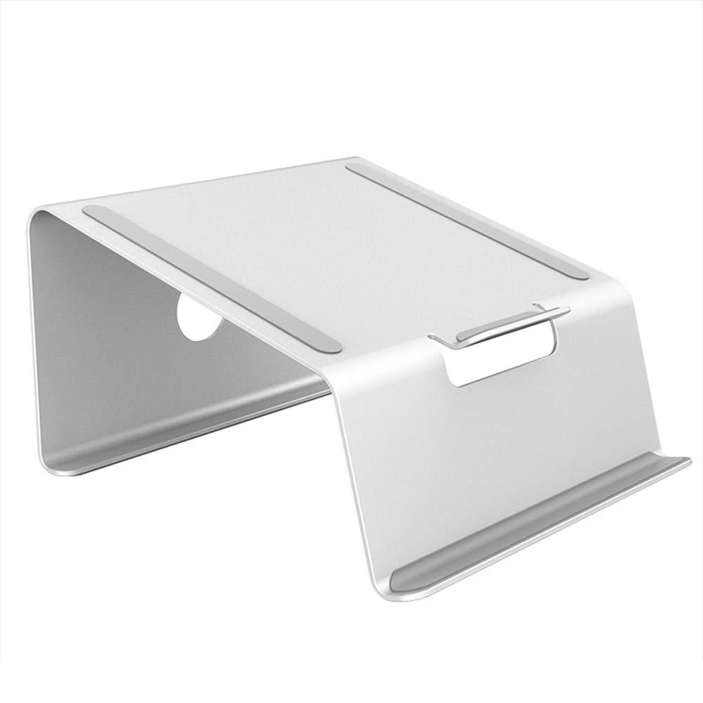 Zhihui Lapdesks ZZHF diannaozhijia Soporte del Ordenador Ordenador Ordenador portátil, Soporte portátil del Metal de la Ayuda Ajustable del Cuaderno de Escritorio de la aleación de Aluminio (Color : Standard) fa26a7