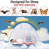 Baby : Yoosion Anti Mosquito Nets Pop Up Mosquito Net Bed Tent with Bottom 200(L)*180(W)*150(H) Mosquito Nettings Folding Portable for Baby Toddlers Kids Adult
