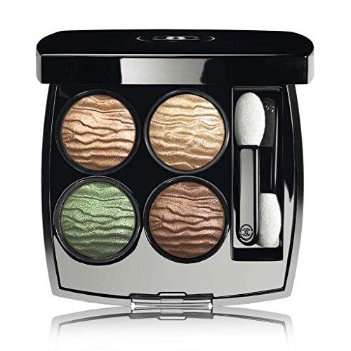 CHANEL LES 4 OMBRES Multi-Effect Quadra Eyeshadow - Limited - Chanel Khaki