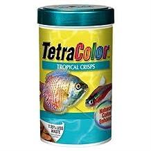Tetra 77199 TetraColor Tropical Crisps, 7.41-Ounce, 1-Liter by Tetra [Pet Supplies]