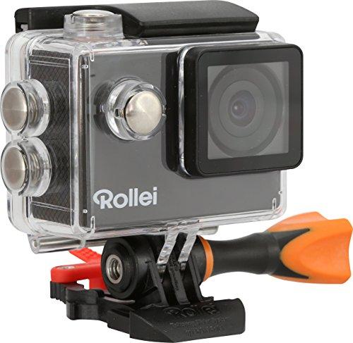 Rollei Actioncam 300 Plus - HD Video Funktion 720p, Unterwassergehäuse für bis zu 40m Wassertiefe, inkl. Schwimmgriff