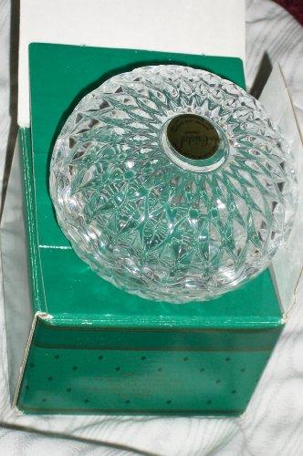 1986 Avon Cristal France Trinket Box 100 Year Representative Gift (Genuine 24% Lead (Avon Trinket Box)