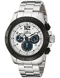 Invicta Men's 15894 Speedway Analog Display Japanese Quartz Silver Watch