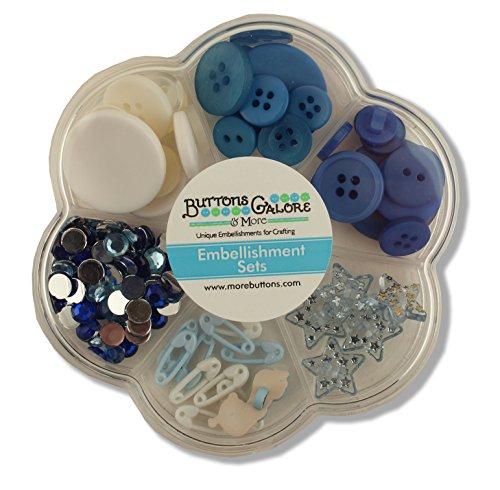 Buttons Galore Embellishment Set, Baby Boy Baby Boy Embellishment