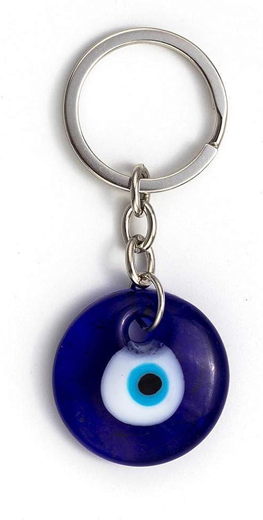 Senoow turc bleu mauvais /œil porte-cl/és voiture porte-cl/és amulette porte-bonheur pendentif suspendu