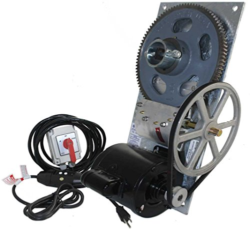 BH-USA 4,500 lb. Deluxe Flat Plate Boat Hoist Combo (One Box) - Galvanized Plate/Momentary Switch / 110v]()