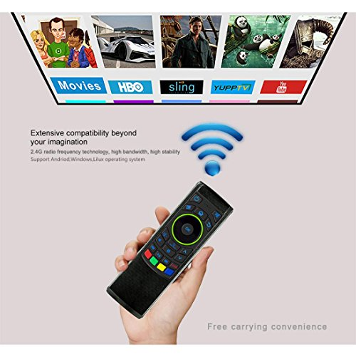 GOTD 2.4G Remote Control Air Mouse Wireless Keyboard For XBMC Android Mini PC TV Box by Goodtrade8 (Image #4)