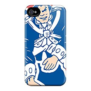 Durable Cases For The Iphone 6plus- Eco-friendly Retail Packaging(new England Patriots)