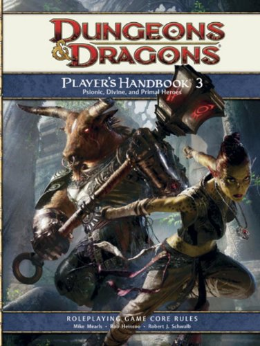 (Player's Handbook 3: A 4th Edition D&D Core)