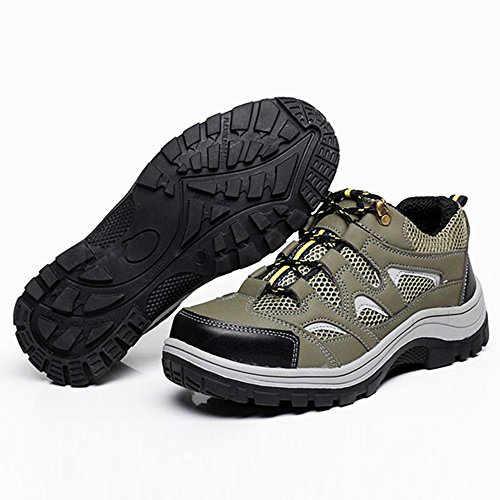 Shoes Army 2 Work Shoes Optimal Shoes Toe Comp Green Safety Steel Men's wFUqaBf