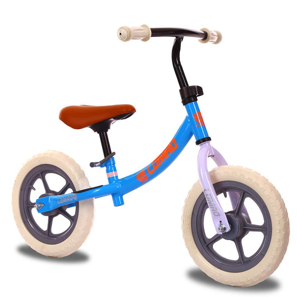 AFYH Balance Bike - Bicicletta per Bambini Senza Pedali-Giocattoli per Bambini - Bilancia da Competizione - Bicicletta Senza Pedali, sterzo a 360 °-Dare al Bambino la Prima Auto,blu
