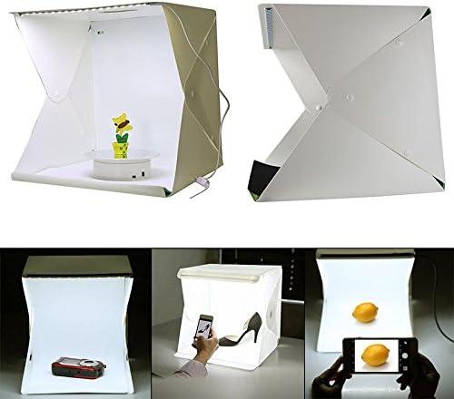 merymall Caja de luz Portátil para Estudio de Fotografía LED (40 ...