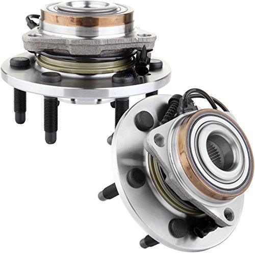 Tahoe Chevrolet Hybrid (SCITOO Both(2) Front Wheel Hub Bearing Assembly Escalade Silverado 1500 Tahoe Yukon W/ABS 4WD)