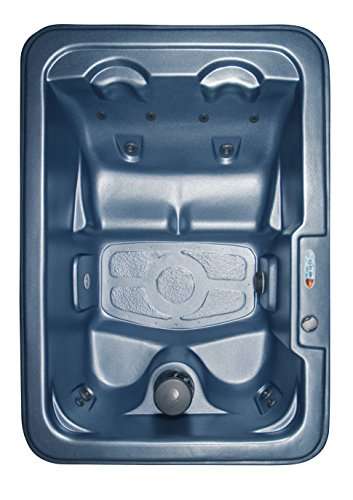 QCA Spas Model 1 North Star Hot Tub, 80.5 by 56.5 by 30-Inch, Blue Denim