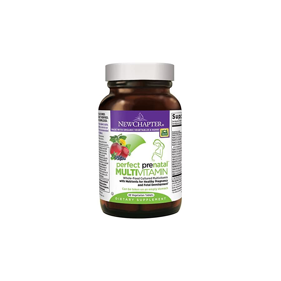 New Chapter Perfect Prenatal Vitamins Fermented with Probiotics