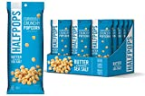 Halfpops Popcorn, Butter and Pure Ocean Sea Salt, 1.4 Ounce (Pack of 15)