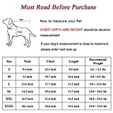 """Mogoko Dog Cat Christmas Reindeer Costume, Funny Pet Elk Costumes Cosplay Dress, Puppy Fleece Outfits Warm Hoodie Animal Festival Apparel Clothes (""""L"""" Size)"""