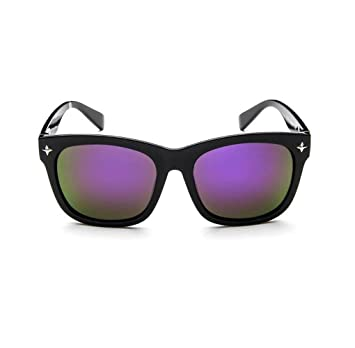 Z&YQ Retro Gläser voller Rahmen Fahrer Spiegel Gezeiten weibliche Sonnenbrille eyewear , a8