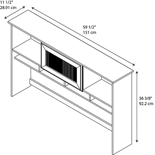 Cabot Hutch by Bush Furniture (Image #5)