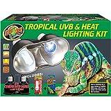 Zoo Med Equipo de luz Tropical UVB y Calor