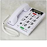 Voice Dialer Phone - 40dB - Visual Ringer - Talking Caller ID