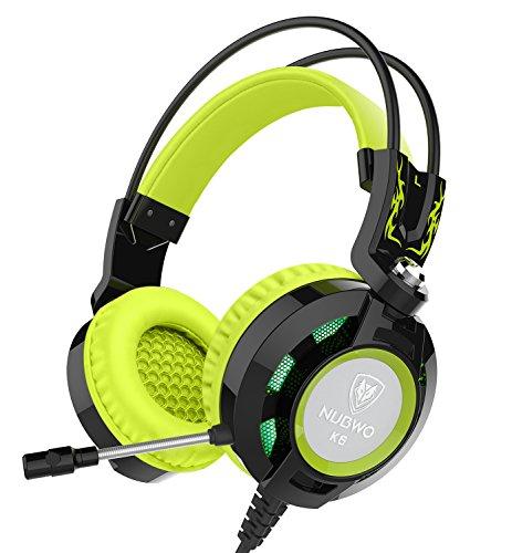 Kopfhörer, Nubwo K6 Stereo-Gaming-Headset mit Mikrofon