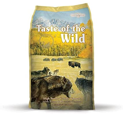 Taste of the Wild Grain-Free Recipe Premium Dry Dog Food - The Balanced Diet for Dogs with Autoimmune Disease
