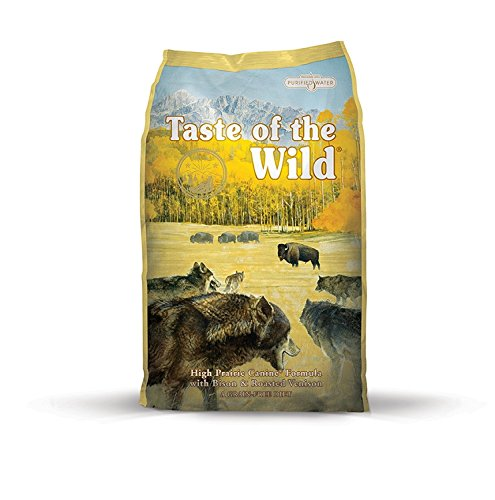 3.Taste of the Wild High Prairie Grain-Free Dry Dog Food