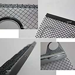 Safaripal 3D Mesh Grille Insert for 2007-2016 Jeep Wrangler JK (Black)