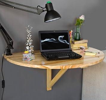 Sobuy Wandklapptisch.Sobuy Wandklapptisch Küchentisch Esstisch Kindermöbel Aus Holz Fwt10 N Farbe Natur