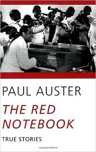 foto de The Red Notebook: True Stories: Auster, Paul: 9780811214988 ...